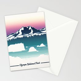 Olympic National Park Stationery Cards
