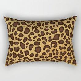 Animal Leopard Skin Pattern Rectangular Pillow