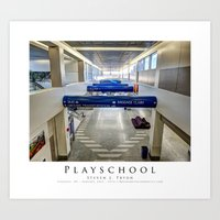 Playschool Art Print