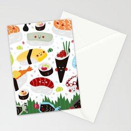 Sushi galore Stationery Cards