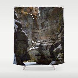 Maligne Canyon, Jasper National Park - Canada Shower Curtain