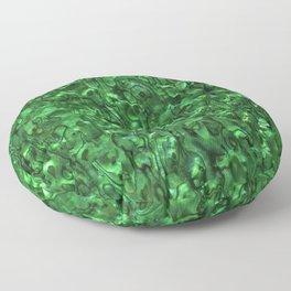 Abalone Shell | Paua Shell | Sea Shells | Patterns in Nature | Green Tint | Floor Pillow
