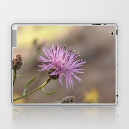 Purple Flowers Vintage on the Beach Laptop & iPad Skin