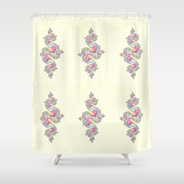 Shades of India Shower Curtain