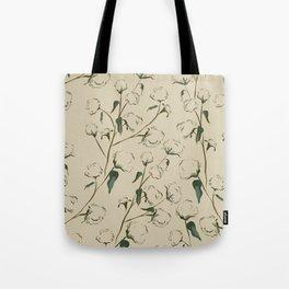 Cotton Bolls Tote Bag