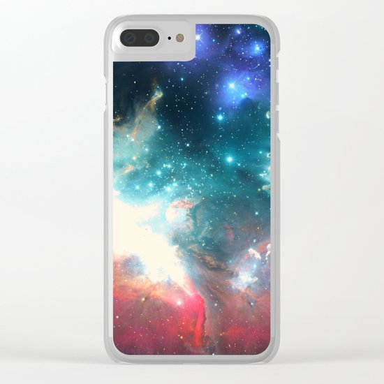 Echoes of the Stars Clear iPhone Case