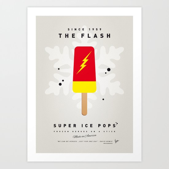 My SUPER ICE POP- No10 Art Print