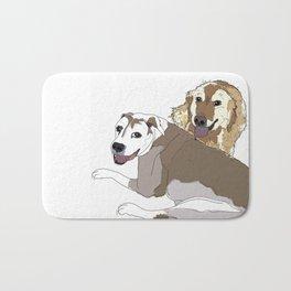 Family Dog Pack Bath Mat