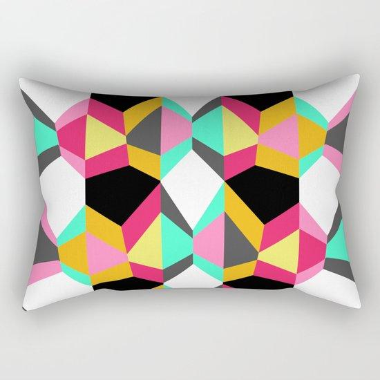 Geometric#18 Rectangular Pillow