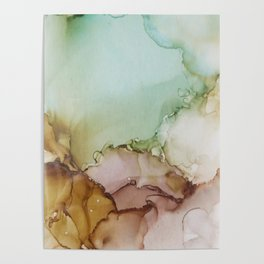Abstract Cotton Mood Poster