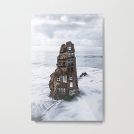 House with a view Metal Print