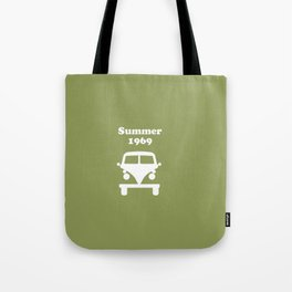 Summer 1969 - Green Tote Bag