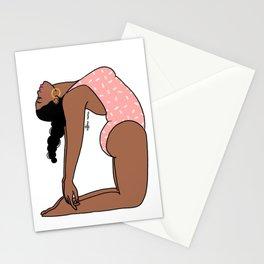 Camel Pose Mimi Stationery Cards