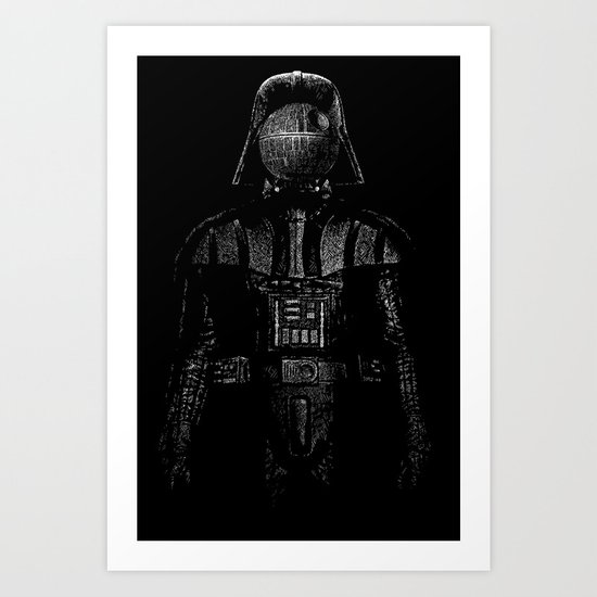 Darth Magritte Art Print