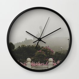 Tian Tan Buddha Wall Clock