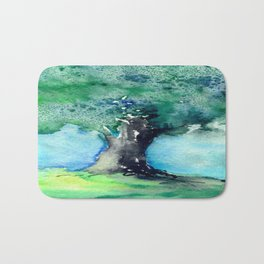Oak Tree Bath Mat