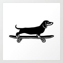 Skateboarder Art Print