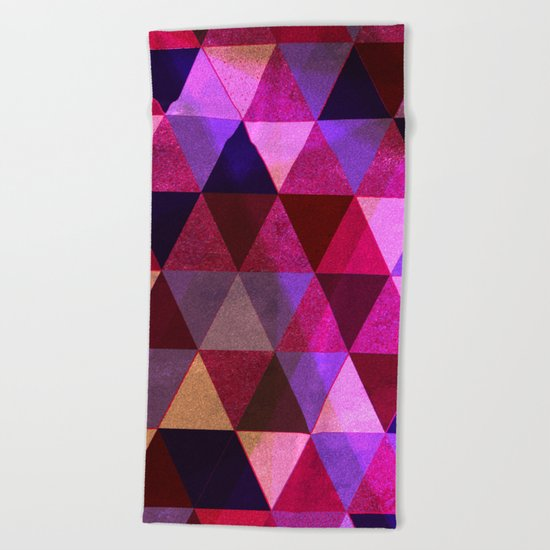 Abstract #434 Beach Towel