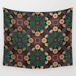 Decorative Indian Mandala Pattern Wall Tapestry