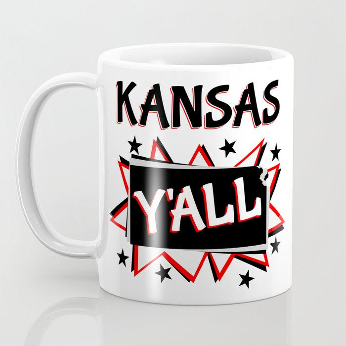 Kansas State Pride Y'all Coffee Mug