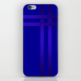 Cobalt blue iPhone Skin