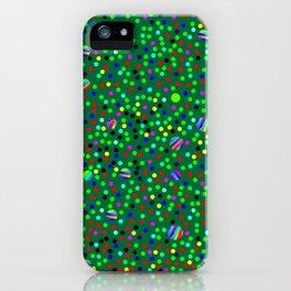Colorful Rain 08 iPhone Case