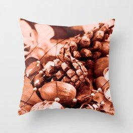 Tempore autumni Throw Pillow