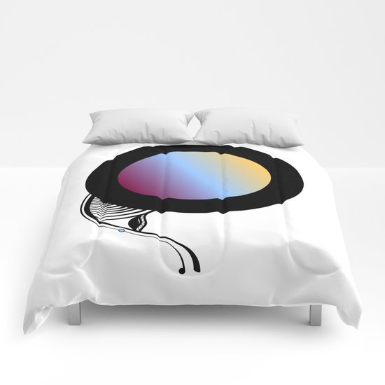 Abstract SH Comforters