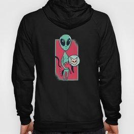 Alien With Cat Hoody