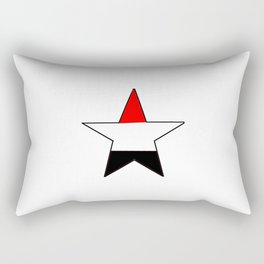 Flag of yemen 5 -yemen,اليَمَن ,Yemeni, Yemenite,Sabaeans,Aden, يمني Rectangular Pillow