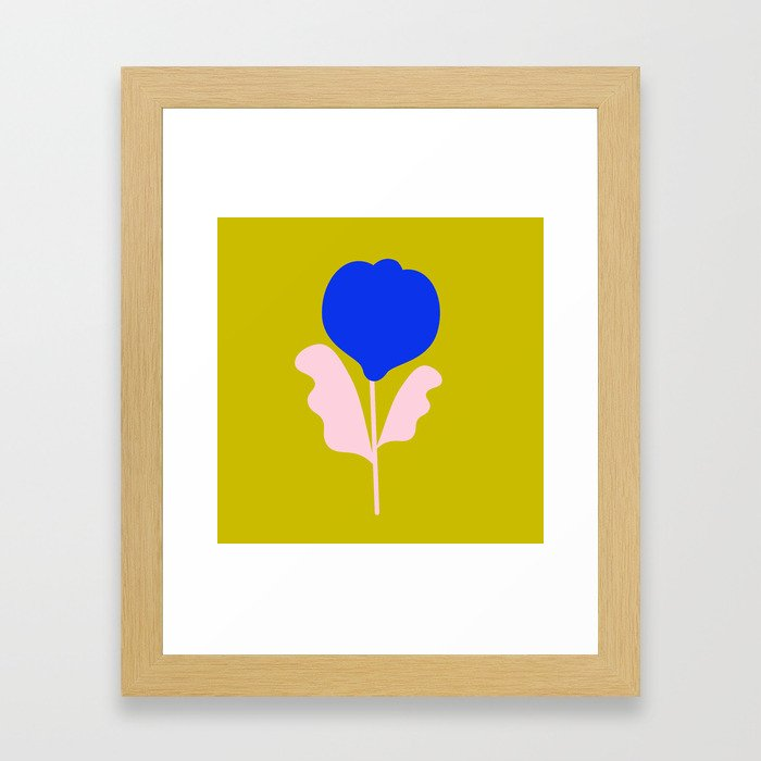 Imaginary Flowers II Framed Art Print