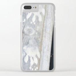 Otter Prints Clear iPhone Case
