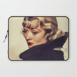 Constance Bennett, Vintage Actress Laptop Sleeve