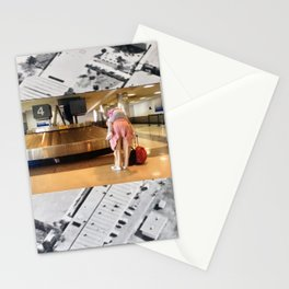 Candid Carousel, Original Photograph Paper Collage by Cecilia Lee of Whipple Hill Art Collective Stationery Cards