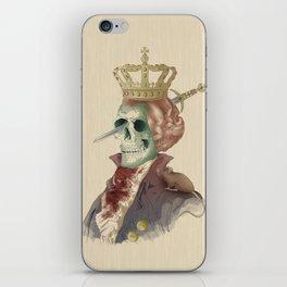 I LOVE THE KING iPhone Skin