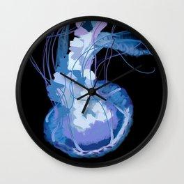 Jellyfish Flip Wall Clock
