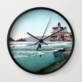 The Cliff House, San Francisco 1899 Wall Clock