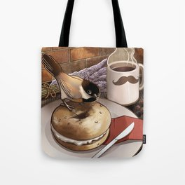 The Bagel Thief Tote Bag
