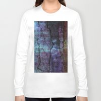 cracked Long Sleeve T-shirts featuring cracked Earth by helsch photography