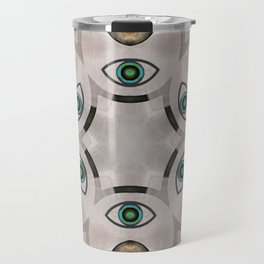 Yin Yang Mandala Travel Mug