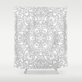 Flake of the Sky Shower Curtain