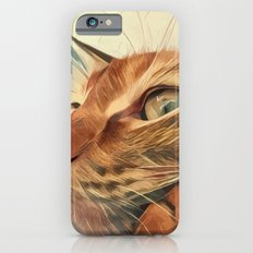 The cat Socca Slim Case iPhone 6s