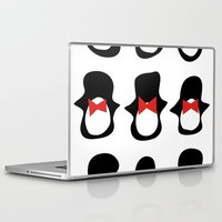 penguins Laptop & iPad Skins featuring Penguins by Flash Goat Industries