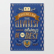 Cleverest Canvas Print