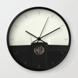 MG Cars Wall Clock
