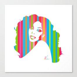 Donna Summer   Pop Art Canvas Print