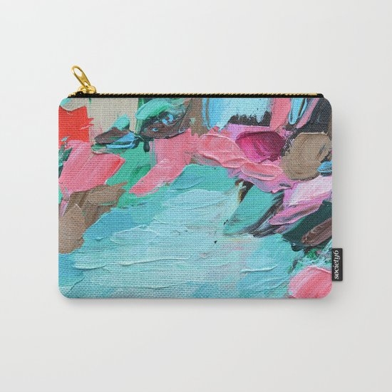 Tahitian Falls Carry-All Pouch