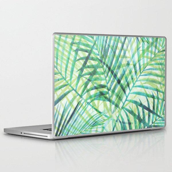 Tropical Greenery III Laptop & iPad Skin