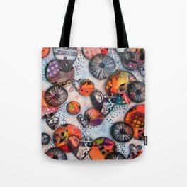 Six Degrees of Separation Tote Bag