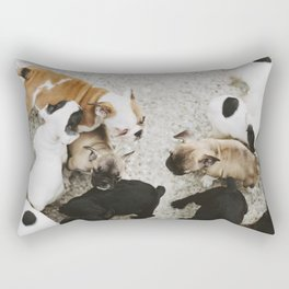 Oh puppy dogs Rectangular Pillow